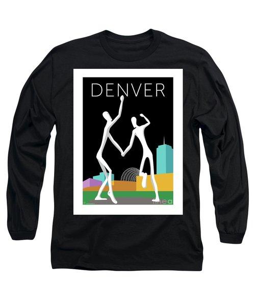 Denver Dancers/black Long Sleeve T-Shirt