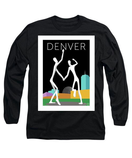 Denver Dancers/black Long Sleeve T-Shirt