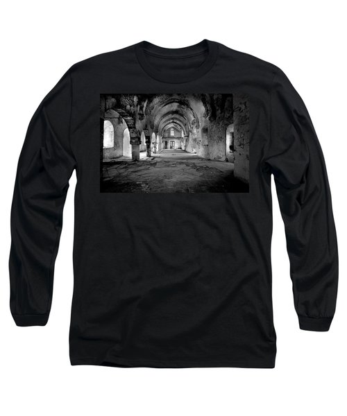 Derelict Cypriot Church. Long Sleeve T-Shirt