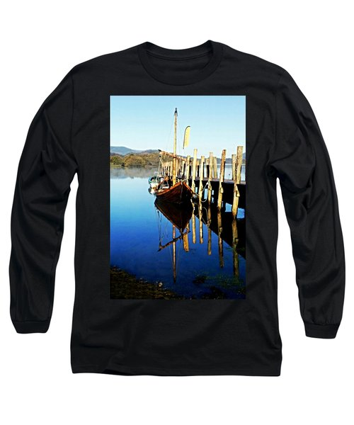 Derwent Water Boat Long Sleeve T-Shirt