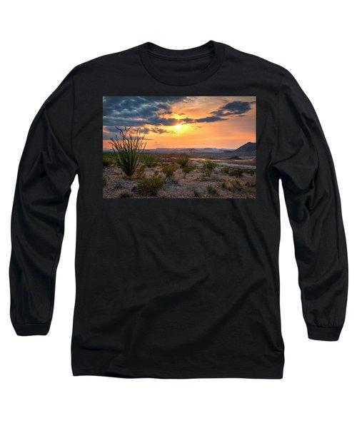 Big Bend Desert Glow II Long Sleeve T-Shirt