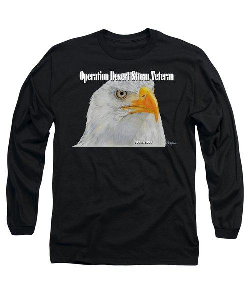 Desert Storm Eagle Long Sleeve T-Shirt