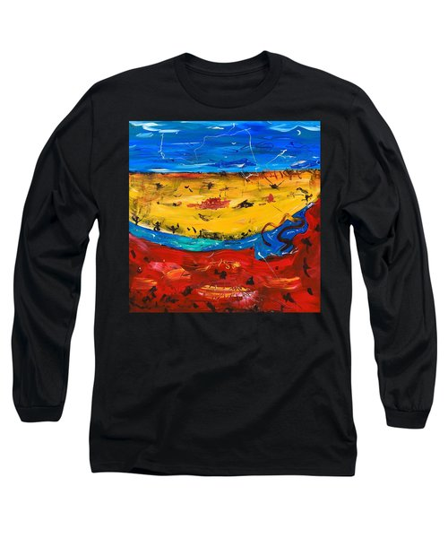 Desert Stream Long Sleeve T-Shirt