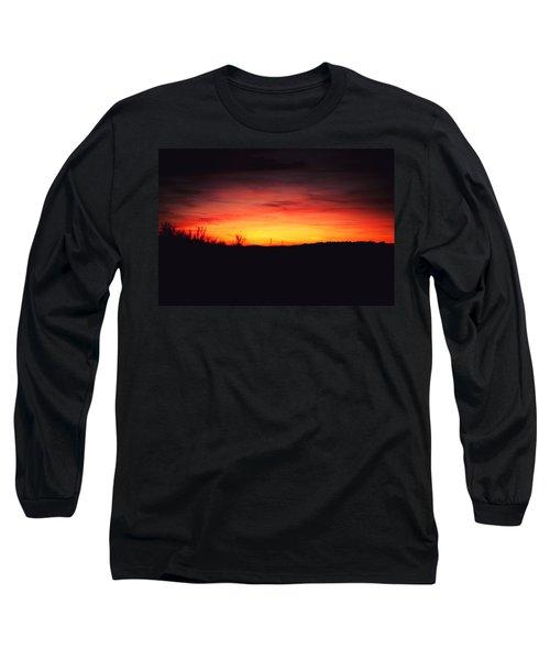 Desert Sundown Long Sleeve T-Shirt