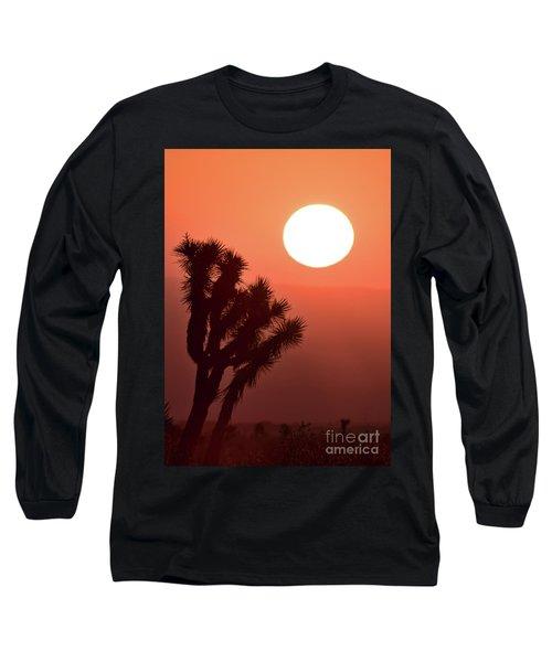 Desert Sunrise Long Sleeve T-Shirt