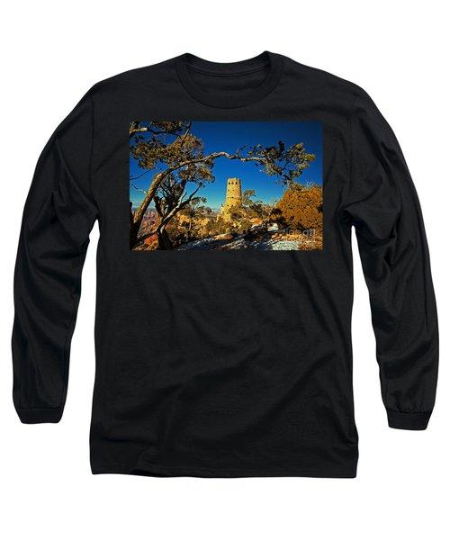 Desert View Watchtower, Grand Canyon National Park, Arizona Long Sleeve T-Shirt