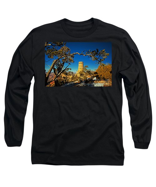 Desert View Watchtower, Grand Canyon National Park, Arizona Long Sleeve T-Shirt