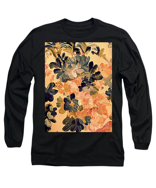 Designing Flowers Long Sleeve T-Shirt