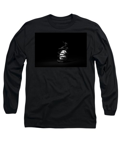 Long Sleeve T-Shirt featuring the photograph Destined To Be A Prisoner For Life - The Dark Side Of It All by Yvette Van Teeffelen