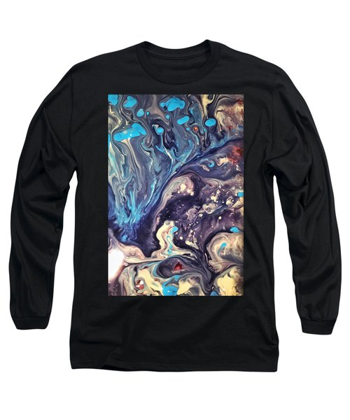 Detail Of Fluid Painting 2 Long Sleeve T-Shirt