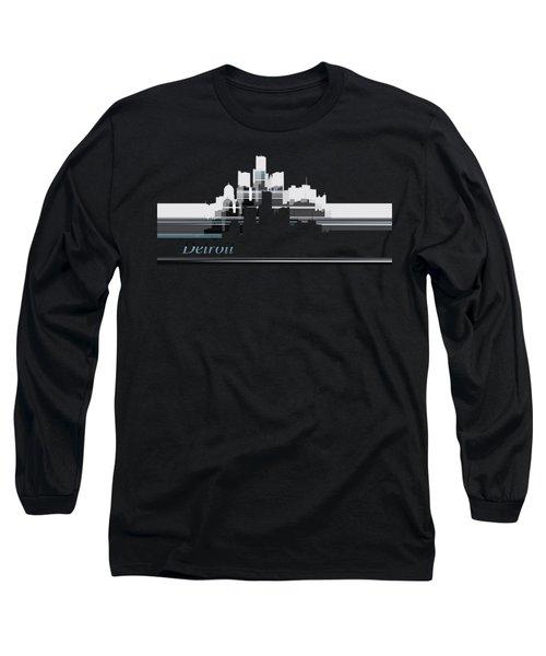 Detroit Lines 1 Long Sleeve T-Shirt