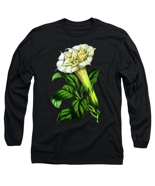 Devil Trumpet Datura Fastuosa Long Sleeve T-Shirt