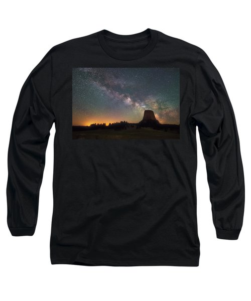 Long Sleeve T-Shirt featuring the photograph Devils Night Watch by Darren White
