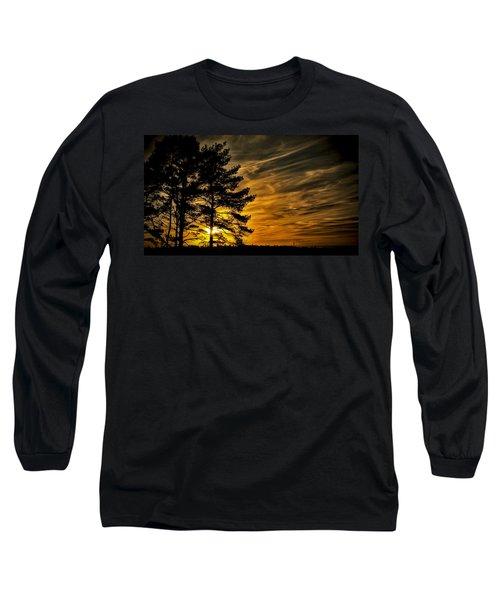 Devils Sunset Long Sleeve T-Shirt