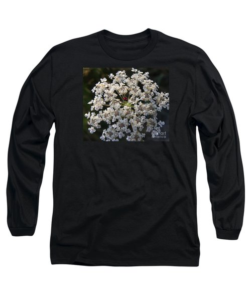 Dew On Queen Annes Lace Long Sleeve T-Shirt