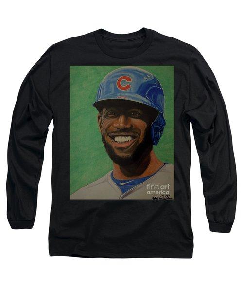 Dexter Fowler Portrait Long Sleeve T-Shirt