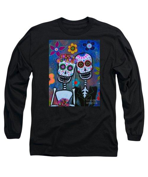 Dia De Los Muertos Matrimonio Long Sleeve T-Shirt