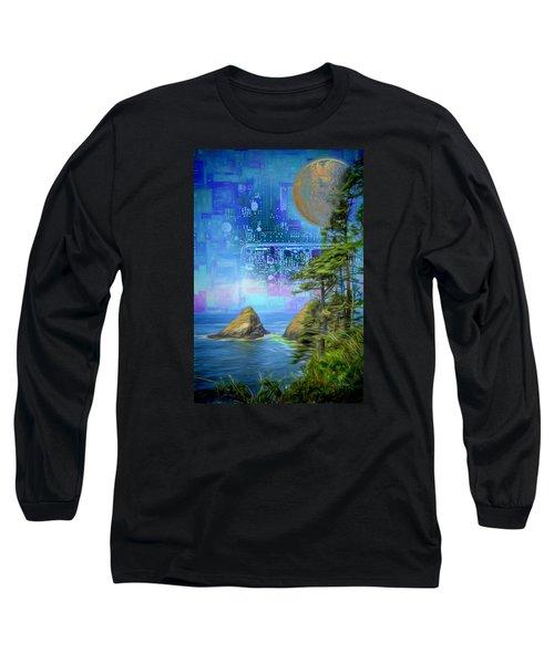Digital Dream Long Sleeve T-Shirt