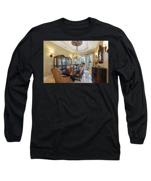 Dining Long Sleeve T-Shirt