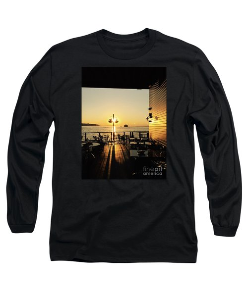 Dinner On The Water Long Sleeve T-Shirt