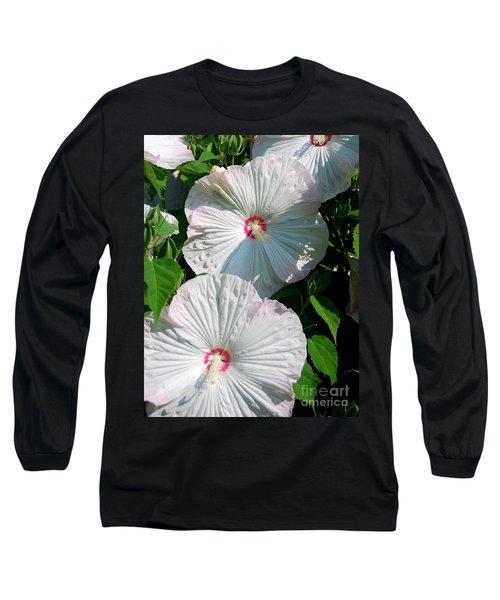 Dish Flower Long Sleeve T-Shirt