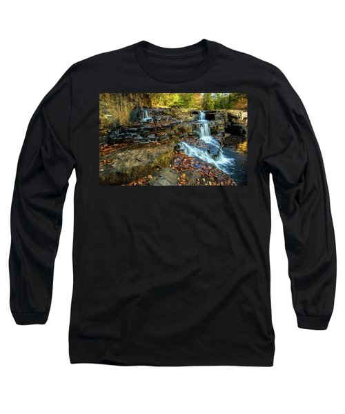 Dismal Creek Falls Horizontal Long Sleeve T-Shirt