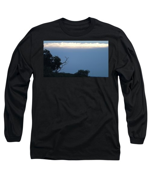 Distant White Clouds Long Sleeve T-Shirt by Don Koester