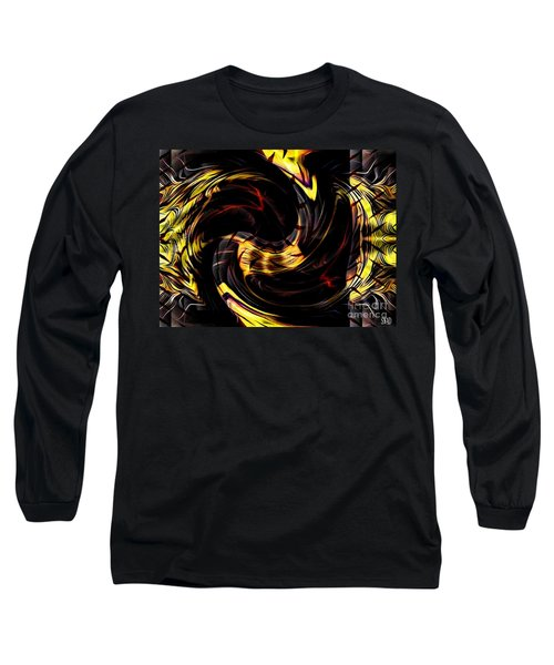 Distraction Overlay Long Sleeve T-Shirt
