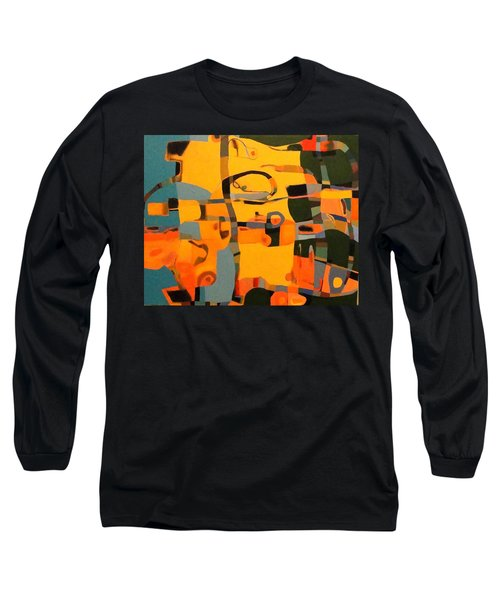 Diverging Pathways Long Sleeve T-Shirt