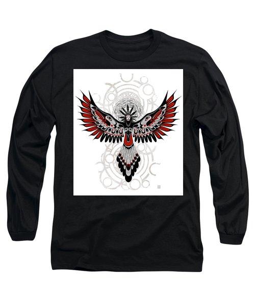 Divine Crow Woman Long Sleeve T-Shirt
