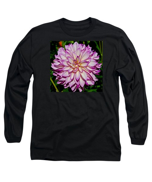 Divine Dahlia Blessings  Long Sleeve T-Shirt