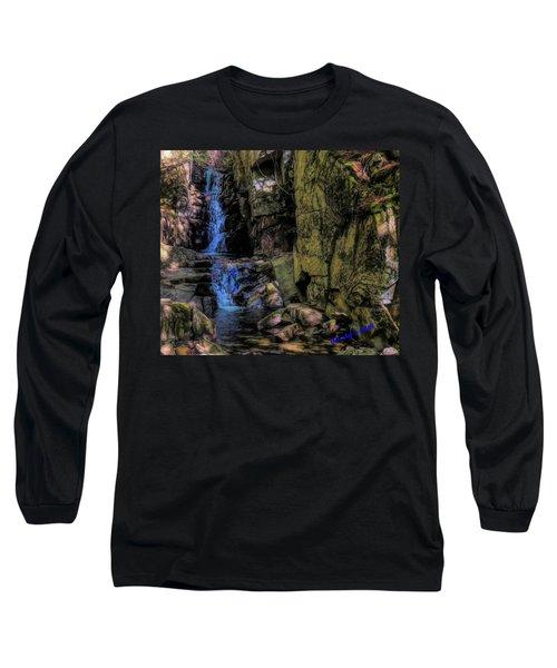Dixville Notch Flume Brook Long Sleeve T-Shirt