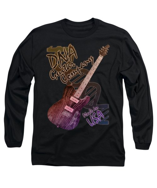 Dna Guitar Company T Shirt 2 Long Sleeve T-Shirt
