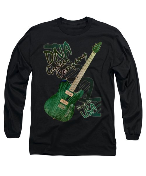 Dna Guitar Shirt 3 Long Sleeve T-Shirt