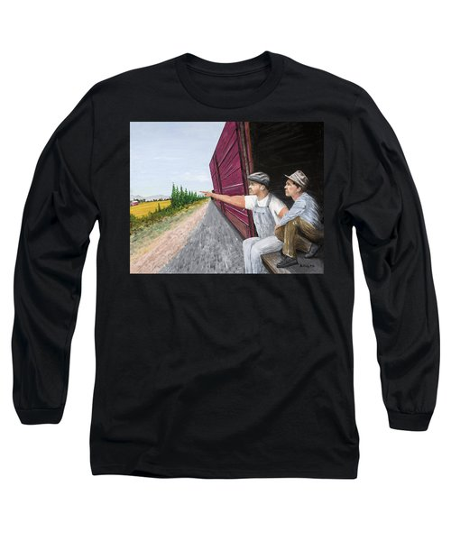 Do You Think They Have Rabbits Long Sleeve T-Shirt