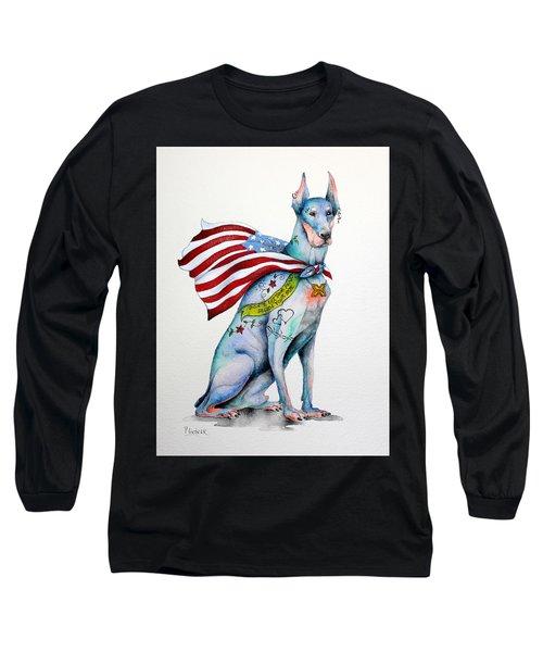 Doberman Napolean Long Sleeve T-Shirt