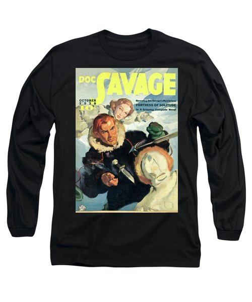 Doc Savage Fortress Of Solitude Long Sleeve T-Shirt
