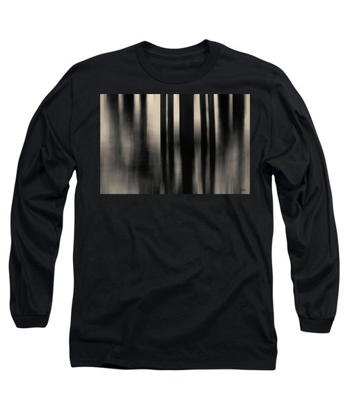 Long Sleeve T-Shirt featuring the photograph Dock And Reflection I Toned by David Gordon