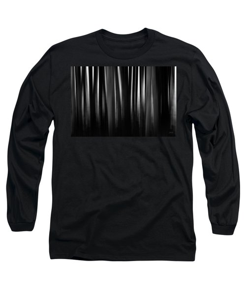 Long Sleeve T-Shirt featuring the photograph Dock And Reflection II Bw by David Gordon