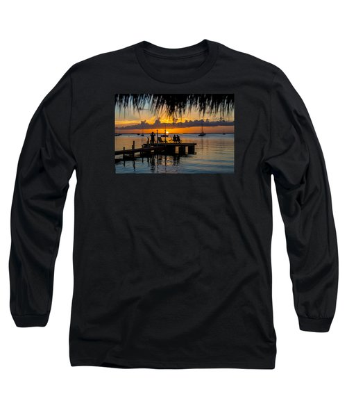 Docktime Long Sleeve T-Shirt by Kevin Cable