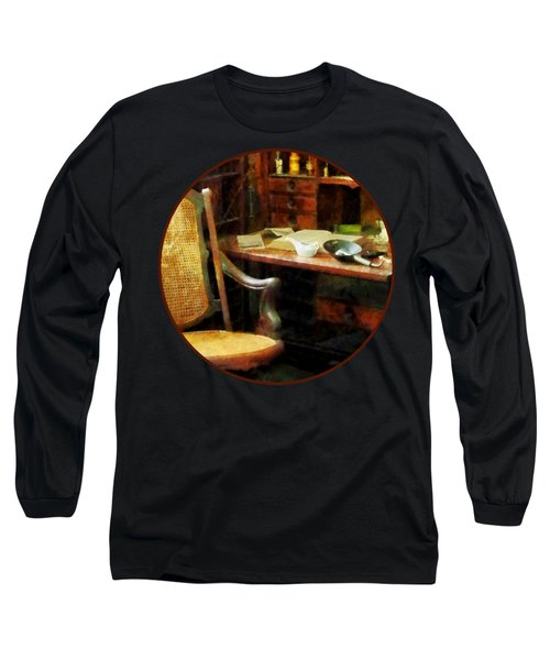 Long Sleeve T-Shirt featuring the photograph Doctor - Doctor's Office by Susan Savad