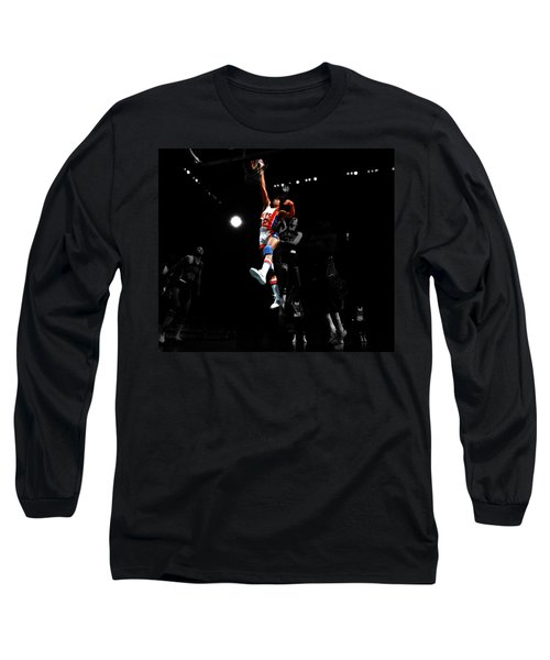 Doctor J Over The Top Long Sleeve T-Shirt by Brian Reaves