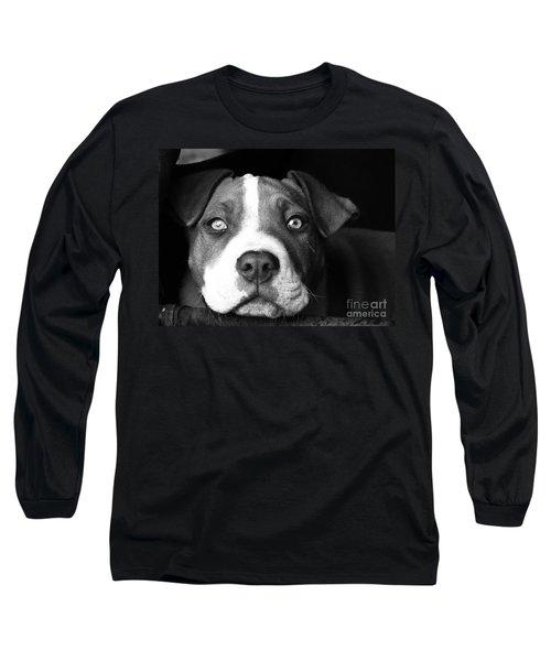 Dog - Monochrome 2 Long Sleeve T-Shirt