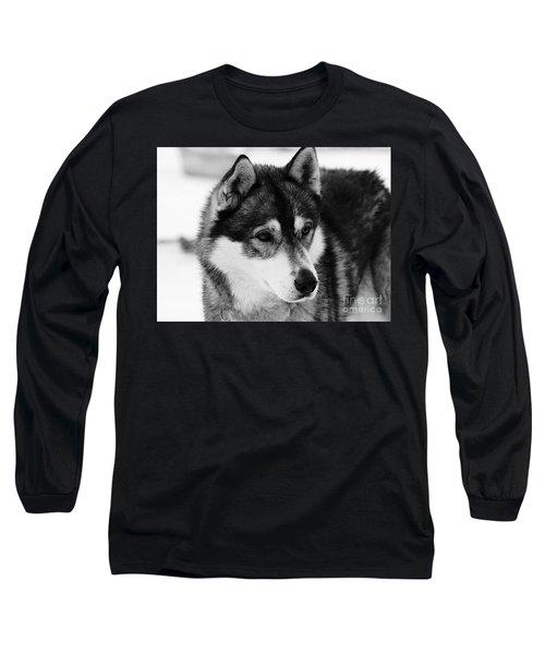 Dog - Monochrome 3 Long Sleeve T-Shirt