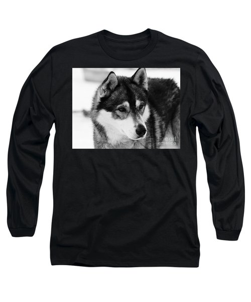 Dog - Monochrome 3 Long Sleeve T-Shirt