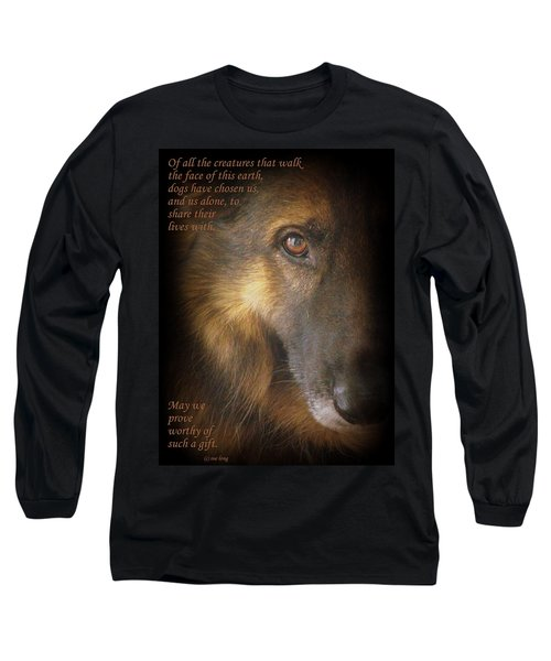 Dogs Chose Us Long Sleeve T-Shirt