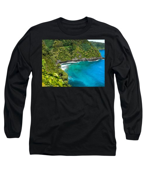 Long Sleeve T-Shirt featuring the photograph Dolphin Cove by Debbie Karnes