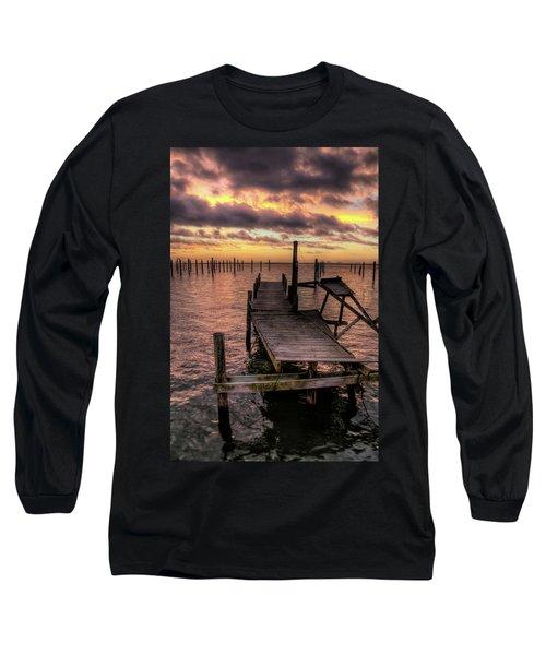 Dolphin Dock Long Sleeve T-Shirt