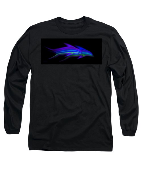 Dolphins Long Sleeve T-Shirt by Charles Stuart