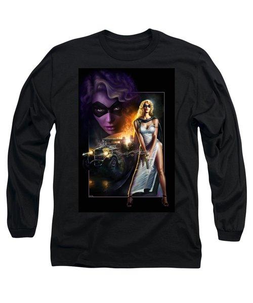 Domino Lady Long Sleeve T-Shirt